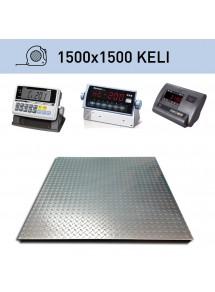 Platformas svari 1500x1500mm (komplekts)