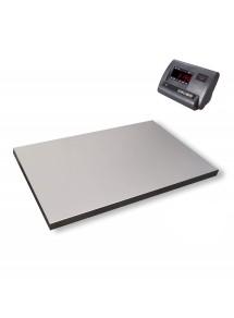 Grīdas svari platforma zemā 900x600 ar A12E indikatoru