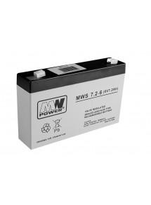 Akumulators 6V 7.2Ah