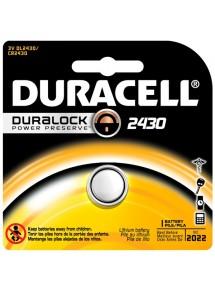 Baterijas tabletes veida formas CR2430 Duracell
