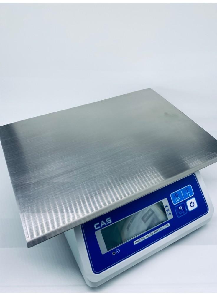 Rezerves daļa svariem nerūsejošā tēraudā virsma SW-IIW